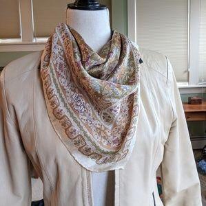 Liberty of London floral silk chiffon scarf